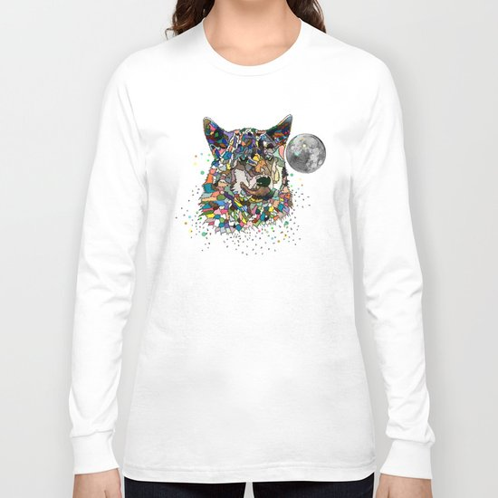Space wolf Long Sleeve T-shirt