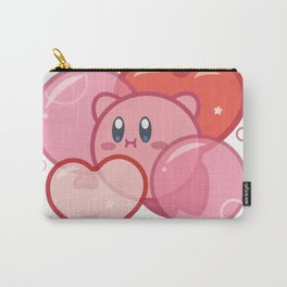 Kirby + Balloons Carry-All Pouch