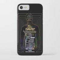 prometheus iPhone & iPod Cases featuring David8 - Prometheus by Chubbybuddhist