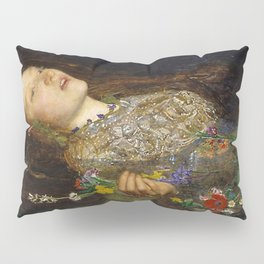 OPHELIA - JOHN EVERETT MILLAIS Pillow Sham