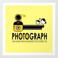 photograph Art Prints featuring PHOTOGRAPH by Ain Rusli