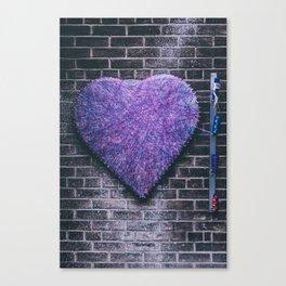 Woven Heart Canvas Print