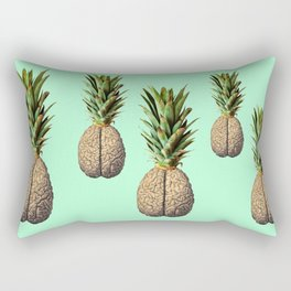 Pinebrain (pineapple) Rectangular Pillow