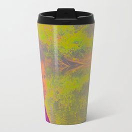 She Listens At Golden River And Feels An Overseeing Power Travel Mug