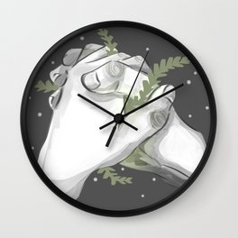 Grow With You Wall Clock