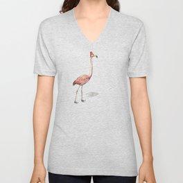 Fez Hat Flamingo Unisex V-Neck