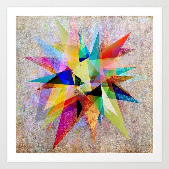 Colorful 2 Art Print