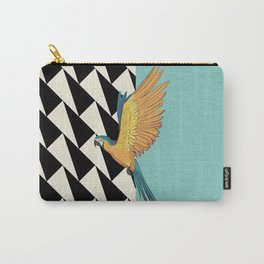 Parrot Pattern Carry-All Pouch