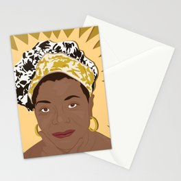 Maya Angelou | Bad Ass Women Series Stationery Cards