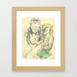 Amalgam IV Framed Art Print