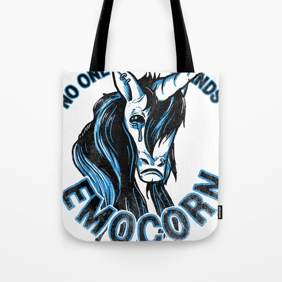 Nobody Understands Emocorn Tote Bag