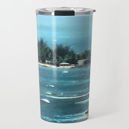 Blurring Into Distance Travel Mug