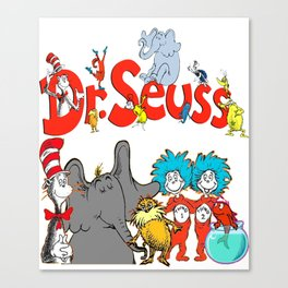 DrSeuss - Read Across America Canvas Print