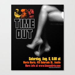 TIME OUT, MARIA MARIA (3) - AUSTIN, TX Canvas Print