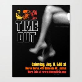 TIME OUT, MARIA MARIA (3) - AUSTIN, TX Canvas Print
