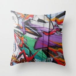 Grafitti Throw Pillow
