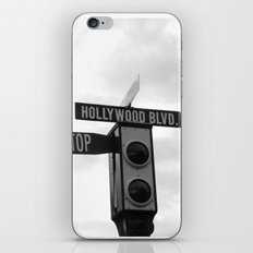 Hollywood Blvd iPhone & iPod Skin