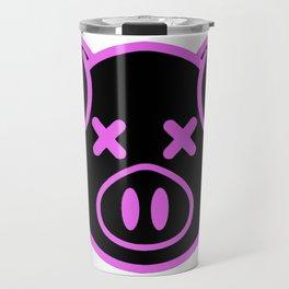 OMG Pink Pig Logo Inspired by Shane Dawson and Jeffree Star Travel Mug