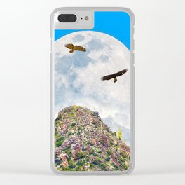 Spring Equinox Clear iPhone Case