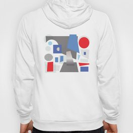 Floating Abstract Silver Hoody