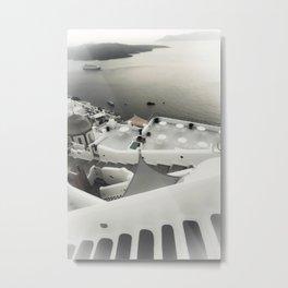 dreaming Fira Metal Print