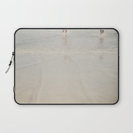 playing in the waves ... Laptop Sleeve
