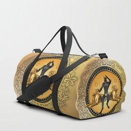 Anubis the egyptian god Duffle Bag