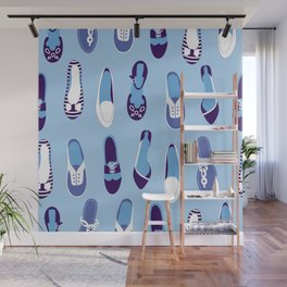 Shoes Wall Mural