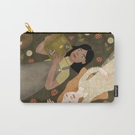 girls in grass Carry-All Pouch