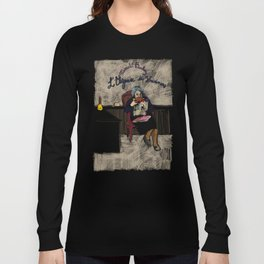 L'élégance du hérisson (Muriel Barbery)- COVERS OF BOOKS THAT NOBODY ASKED ME TO ILLUSTRATE N.1 Long Sleeve T-shirt