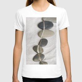 zen pebble line T-shirt