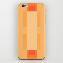 Apricot Pattern iPhone Skin