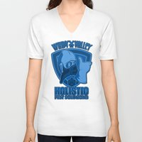 nausicaa V-neck T-shirts featuring Windy Valley Holistic Pest Solutions by adho1982