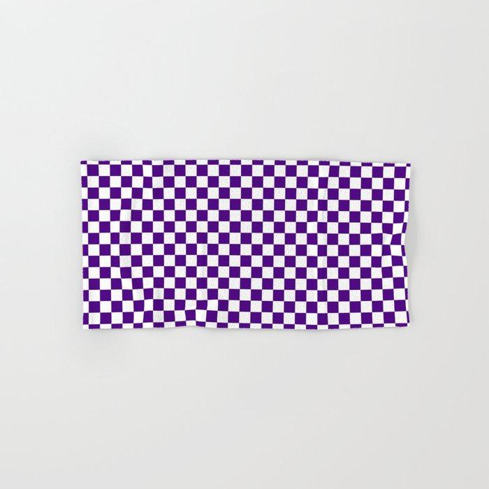 Checker (Indigo/White) Hand & Bath Towel