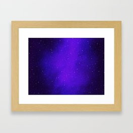 Oh the Stars Framed Art Print