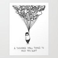 A thousand small things Art Print