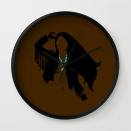 Pocahontas follows rivers. Wall Clock