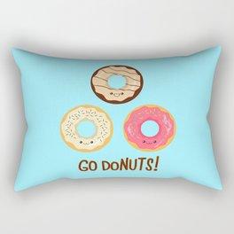 Go doNUTS! Rectangular Pillow