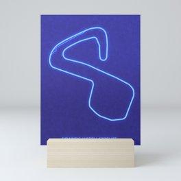 Brands Hatch Circuit Mini Art Print