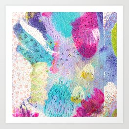 Abstract expression Art Print