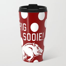 Polka-Dots Hogs Travel Mug
