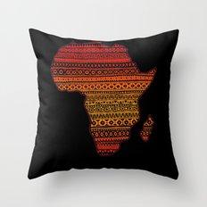 AFRIKA Throw Pillow