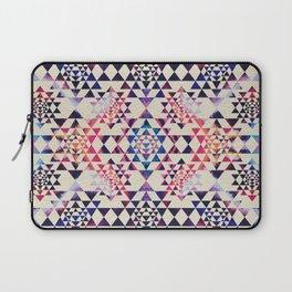 Sri Yantra  / Sri Chakra Pattern - Paint texture Laptop Sleeve