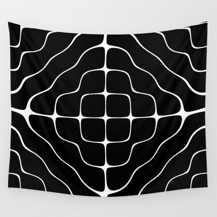 Energy Vibration 5 Frequency Chladni Cymatics Wall Tapestry By Hyperspacelab Society6