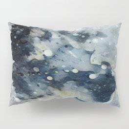 Dark Galaxy1 watercolour by CheyAnne Sexton Pillow Sham