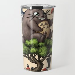 Forest Guardian Bonsai  Travel Mug