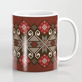 Ornate Folk Pattern  Coffee Mug