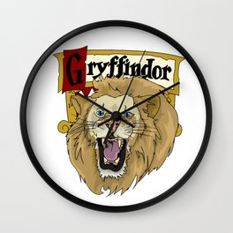 Strength of a Gryffindor Wall Clock