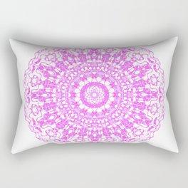 Mandala 12 / 2 eden spirit pink Rectangular Pillow