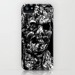 Zombi iPhone Case